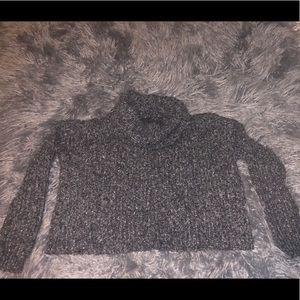 Turtle neck grey sweater